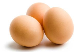Цельные яйца