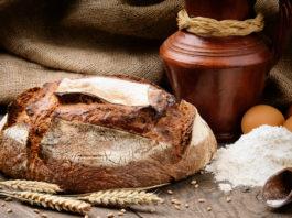 булка хлеба и соль