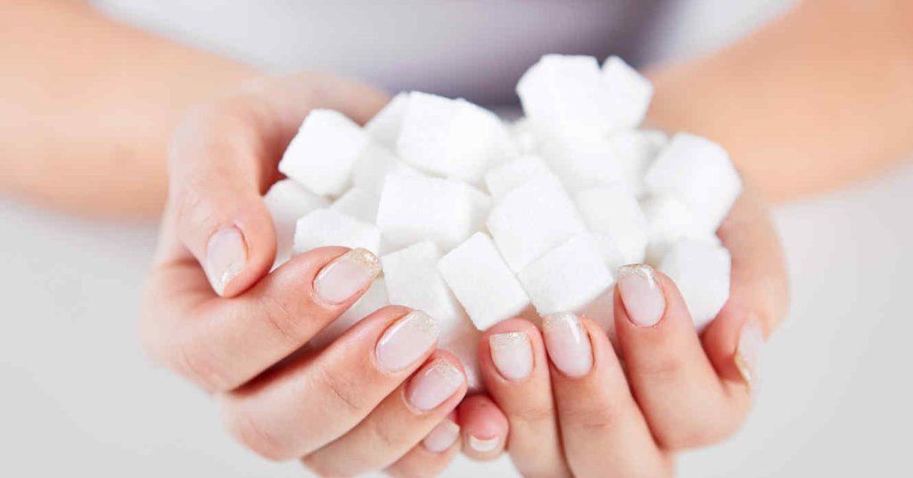 сахар в ладошках