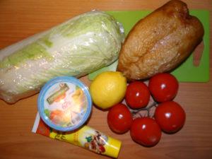 ингредиенты для Цезаря