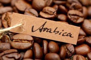 """кофейные зерна с надписью """"арабика"""""""