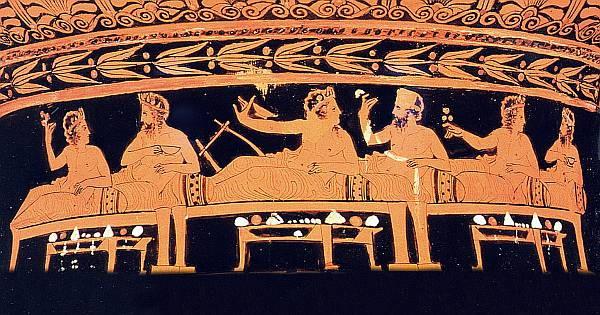 хлеб в древней греции