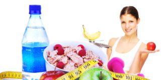 девушка соблюдающая диету