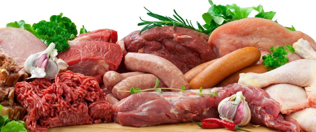 колбаса из мяса