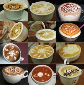 кофейные чашки с рисунками