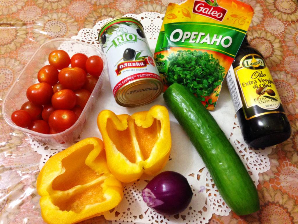 ингредиенты для классического салата