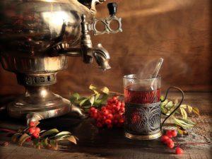 ритуал чаепития в России