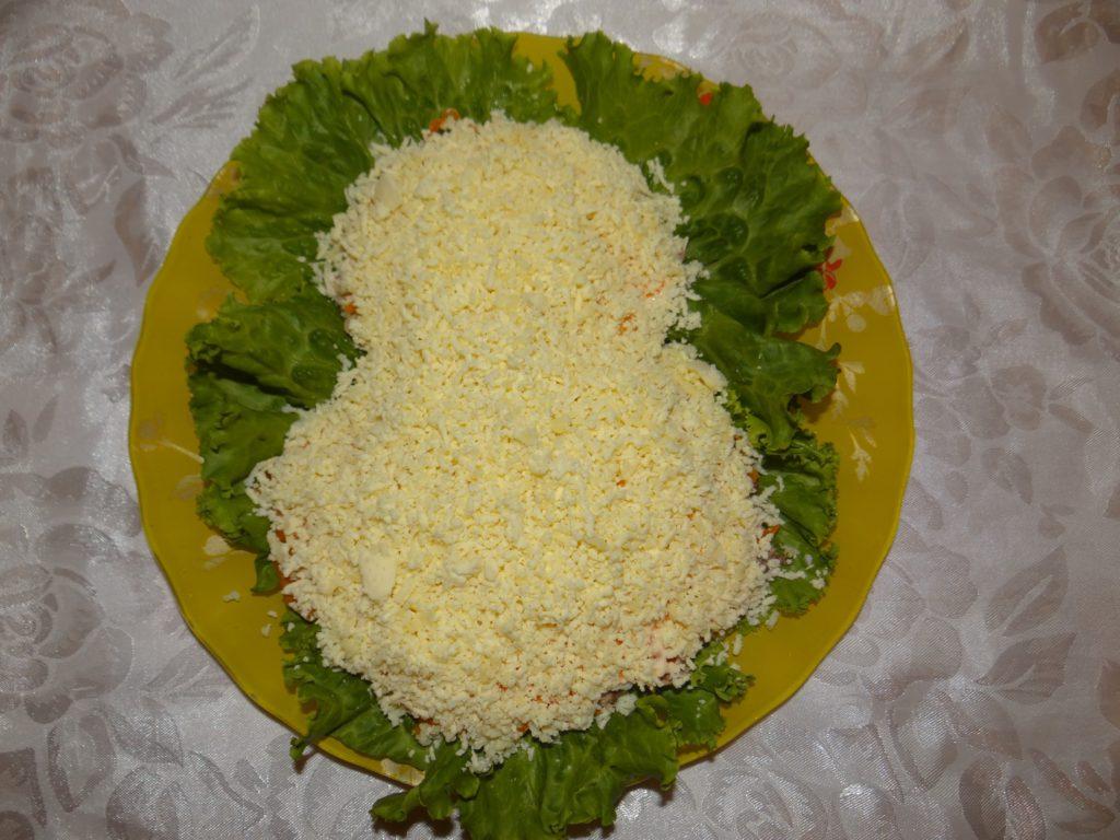 желтки в салат