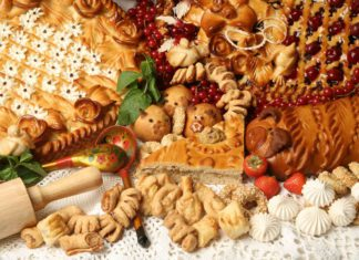 пироги разных сортов