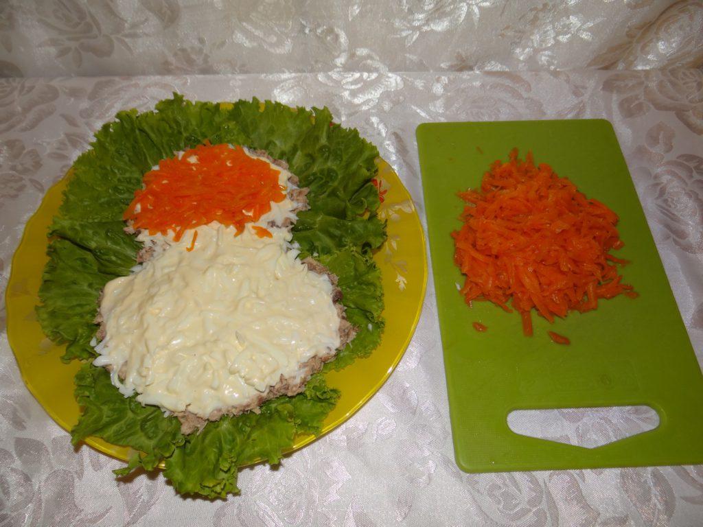 морковь в салат