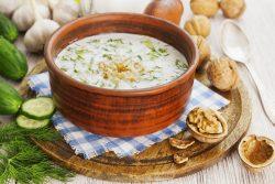 Холодные супы: история блюд